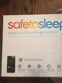 Safe to Sleep and Breathing Monitor Alarm system for Newborns & Infants  2244 mi