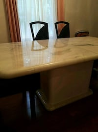 Marble Dining room table with 6 chairs Paramus, 07652
