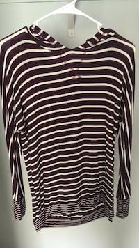 black and white striped long-sleeved shirt Columbus, 31909