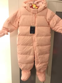b860c0f1d Used GAP DOWN SNOWSUIT BABY GIRL 18-24 MONTHS for sale in ...