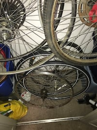 Lots of 26 and 27 inch bicycle wheels tires Minneapolis, 55405