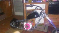 Mini chopper with a 9hp has cam and carb jetted not for kids fast