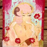 Aries lady painting