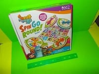 ~BRAND NEW~ BEAT BUGS theme spin go round board game 991 mi