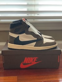 Travis Scott 1s Size 9