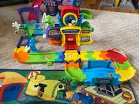 V-Tech Mickey Mouse Train Station & Minnie Mouse Ice Cream Shop with Brand New Play Mat - $20 All Holbrook, 11741