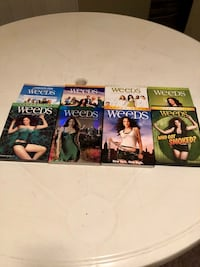 Weeds DVD , complete season . Used once