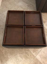 Coffee Table...reversible trays and cushions Henderson, 89012