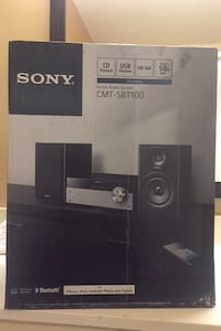Sony CMT-SBT100 Home Audio System Linthicum Heights, 21090