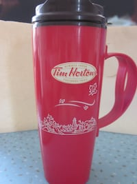 Tim Horton's Large 20 oz Insulated Thermoserv Travel Cup Winnipeg