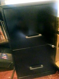 Black 2 drawer file cabinet District Heights, 20747
