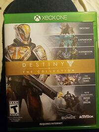 Xbox One Destiny the collection game case