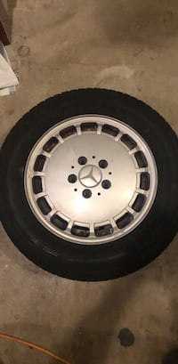 4 15in Mercedes wheels and tires Temecula, 92591