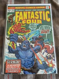 Fantastic Four comic book MARVEL