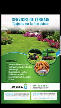 Service pelouse / Lawn mowing needs** Longueuil