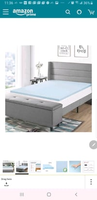 white and gray bed mattress Bakersfield, 93313