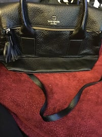 Black kate spade leather 2-way tote bag Milpitas, 95035