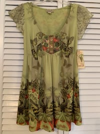 NWT One World Blouse Size S Myrtle Beach, 29577