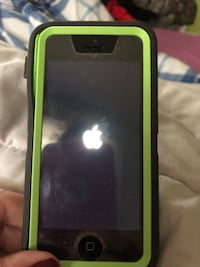 iPhone 5c green with OtterBox  Bridgeport, 13030