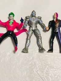 """Vintage Batman Villains from the 90's 6"""" inches 153 mi"""