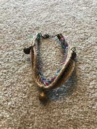 braided brown bracelet Vancouver, V6J