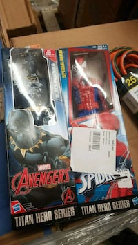 Avengers Spider-Man Titan hero series $8 each Riverside, 92509