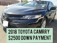 $2500 DOWN PAYMENT 2018 Toyota Camry Houston