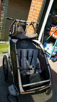baby's black and gray stroller Toronto, M3M 1Y9