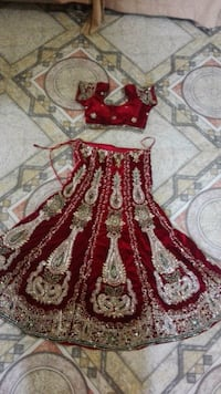 red and brown floral textile Pune, 411048