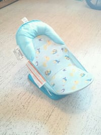 baby's blue and white Summer bather 538 km