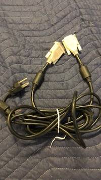 Computer monitor and power cables  Las Vegas, 89123