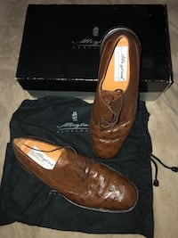 pair of brown leather wingtip dress shoes Fort Washington, 20744