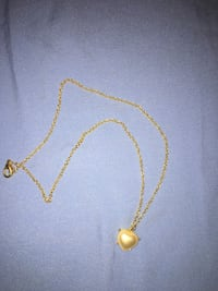 Faux heart pearl necklace   Mars Hill, 28754