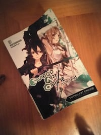 Sword art online anime book Mishawaka, 46544