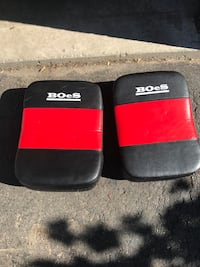 two black-and-red Supreme bags Bowmanville, L1C 4K6