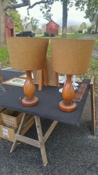 Mid Century Bowling Lamps Hunterdon County, 08867