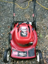 red and black push mower Harpers Ferry, 25425