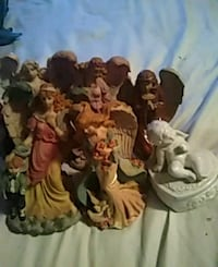 Ceramic an precious moments an other figurines