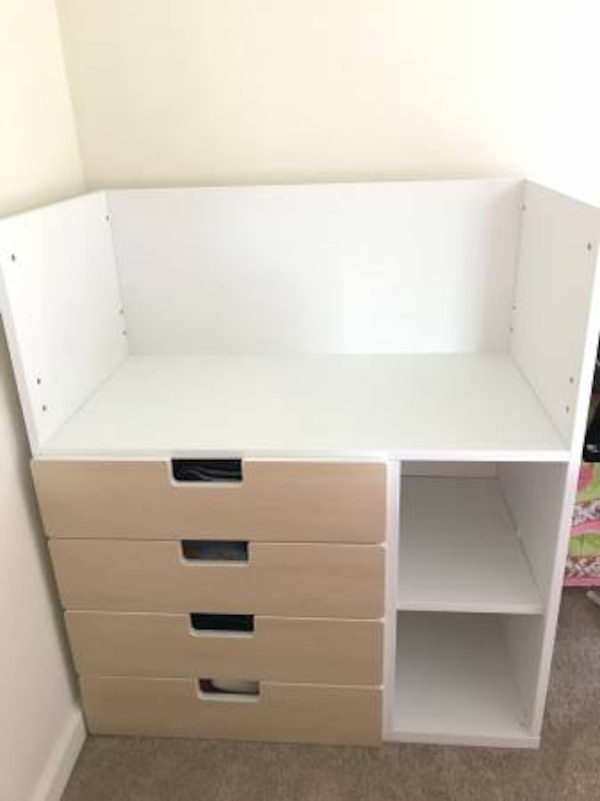 Stupendous Ikea Stuva Changing Table With 4 Drawers Home Interior And Landscaping Fragforummapetitesourisinfo