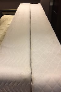 King size box spring - pick them up today!