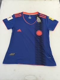 blue and red Adidas jersey shirt North Lauderdale, 33068
