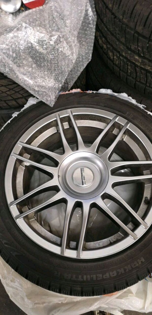 17' BMW 3 series snow tires and rims