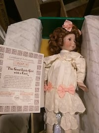 The Good Little Girl with a Curl doll