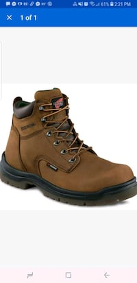 RedWing boots size 9 Elm City, 27822