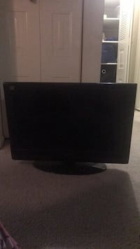 Black flat screen tv without remote control Capitol Heights, 20743