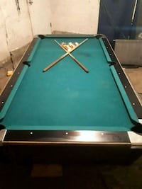 Pool table 5×9  1' slate Edmonton, T6E 2W9