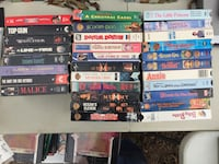 Movie vhs tape case lot Russellville, 72802