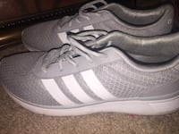 pair of gray Adidas low-top sneakers Hagerstown, 21742