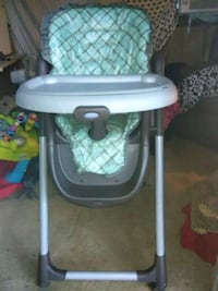 baby's white and blue high chair Ruston, 71270