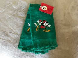 Mickey&Co Fingertip Towels (Brand new)